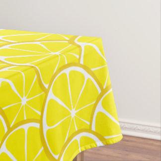 Superior Summer Citrus Lemon Tablecloth