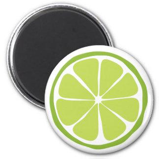 Summer Citrus Lime Magnet