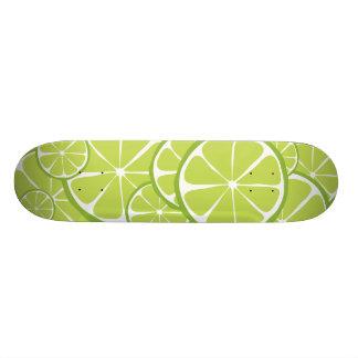 Summer Citrus Lime Skateboard
