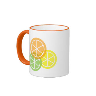 Summer Citrus - Orange Lime Lemon Coffee Mug