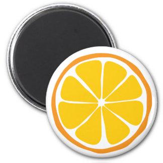 Summer Citrus Orange Magnet