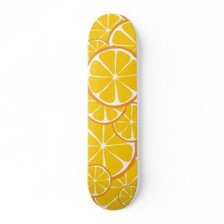 Summer Citrus Orange Skateboarde skateboard