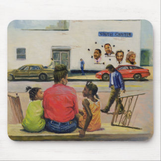 Summer City Stoop 2000 Mouse Pad