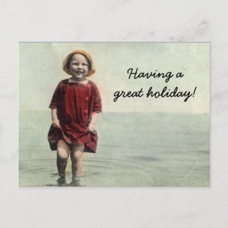 Summer classic Postcard postcard
