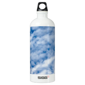 Summer Clouds Aluminum Water Bottle