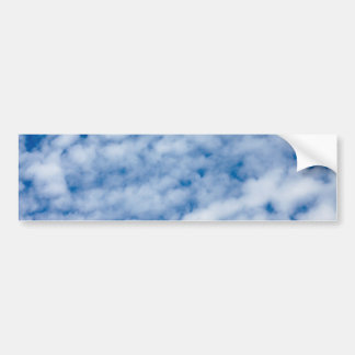 Summer Clouds Bumper Sticker