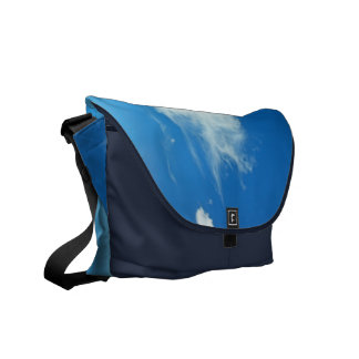 Summer Clouds Courier Bag