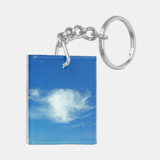 Summer Clouds Keychain