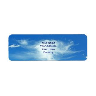 Summer Clouds Label