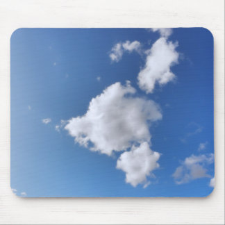 Summer Clouds Mouse Pad