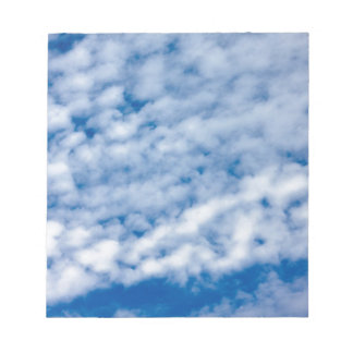 Summer Clouds Notepad