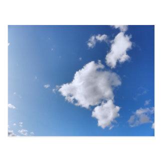 Summer Clouds Postcard