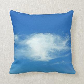 Summer Clouds Throw Pillows
