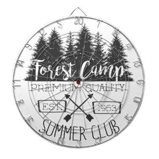 Summer Club Vintage Dart Board