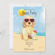 Summer Cocker Spaniel Holiday Card