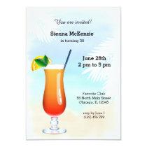 Summer Cocktail Card