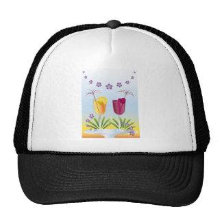 Summer Cocktail Trucker Hat