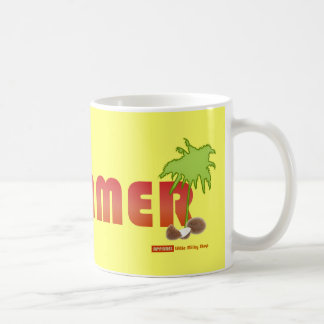 Summer Coconut Palm Mug
