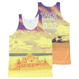 Summer Collection Boracay Island Philippines All-Over-Print Tank Top