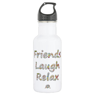 Summer Collection- Friends, Laugh, Relax & Tan Water Bottle
