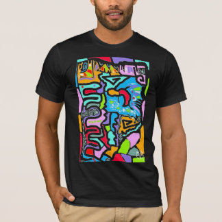 Summer Colorful Motif T-Shirt