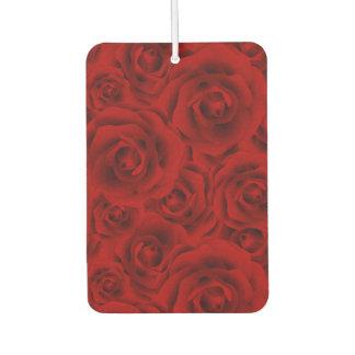 Summer colorful pattern rose air freshener
