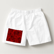 Summer colorful pattern rose boxers