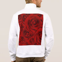 Summer colorful pattern rose jacket