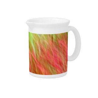 Summer colors beverage pitcher