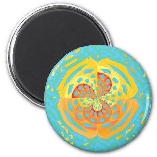 Summer colors magnet