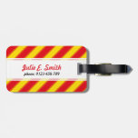 Summer Colors Stripes Tag For Luggage