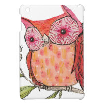 Summer colourful owl T shirt iPad Mini Covers