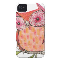 Summer colourful owl T shirt iPhone 4 Cover