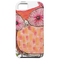 Summer colourful owl T shirt iPhone SE/5/5s Case