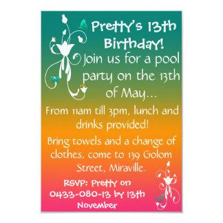 Summer Colours Invite
