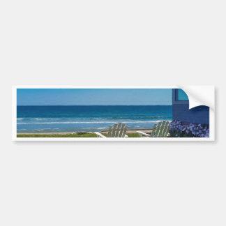Summer Comes to Higgins Beach Bumper Sticker