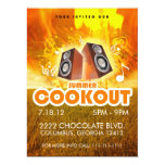 SUMMER COOKOUT FLYER CUSTOM INVITES