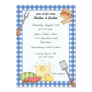 Summer Cookout Invitation at Zazzle