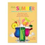 "Summer Coolers Invitation 5"" X 7"" Invitation Card"