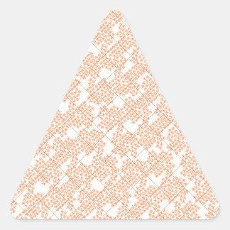 Summer Cottage Fleur Triangle Sticker