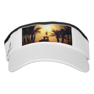 Summer Custom Knit Visor, White Visor
