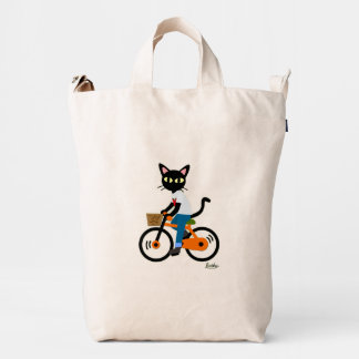 Summer cycling duck bag