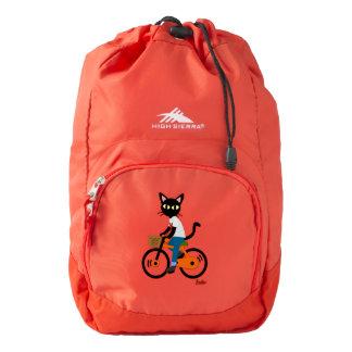 Summer cycling high sierra backpack