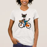 Summer Cycling T-shirt at Zazzle