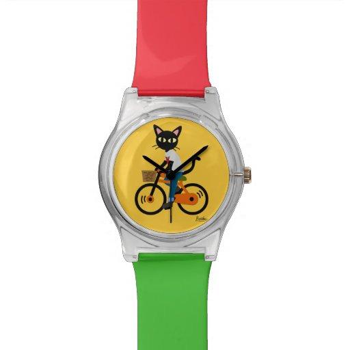 Summer cycling wristwatch
