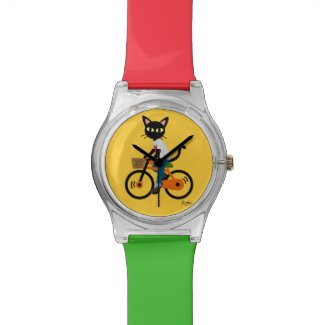 Summer cycling wristwatch