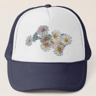 SUMMER DAISIES by SHARON SHARPE Trucker Hat
