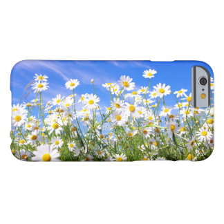 Summer daisies in field barely there iPhone 6 case