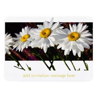"Summer Daisies - Invitation 5.5"" X 7.5"" Invitation Card"