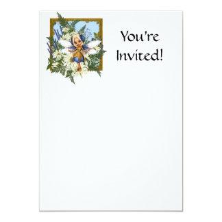 Summer Daisy Blue Fae Card
